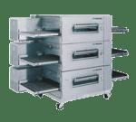 "Lincoln Impinger Lincoln Impinger 1600-FB3G Lincoln Impinger Low Profile"" Conveyor Pizza Oven"