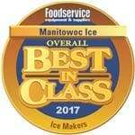 Manitowoc QM-30A Ice Maker with Bin