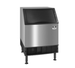 """Manitowoc UYF0140A 26"""" Half-Dice Ice Maker With Bin, Cube-Style - 100-200 lbs/24 Hr Ice Production, Air-Cooled, 115 Volts"""
