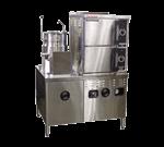 Market Forge Industries 3500M42MT10E Convection Steamer/Kettle Combination