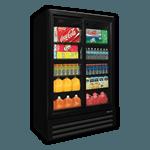 BMG-48-HGP Full-Height Swing Glass Door Refrigerator
