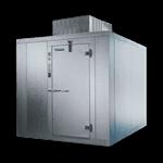 "Master-Bilt Products MB5860606FIHDX (QUICK SHIP) INDOOR Walk-In Freezer 5'-10"" x 5'-10"" x 8'-6"""