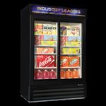 Master-Bilt MBGRP48-SL Fusion Plus Glass Door Refrigerator Merchandiser