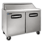 "Master-Bilt Products MBSP48-12A Fusion"" Refrigerated Sandwich Top"