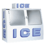 Master-Bilt Products IM-60F Outdoor Ice Merchandiser