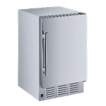 """Maxx Cold Maxximum MIM25-O 14.60"""" Crescent Cubes Ice Maker With Bin, Cube-Style - 10-50 lbs/24 Hr Ice Production, Air-Cooled, 115 Volts"""