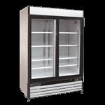 Maxx Cold Maxximum MXM2-48RSB Maxx Cold X-Series Refrigerated Merchandiser