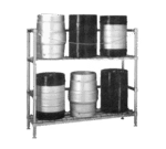 Metro 2KR345DC HD Super™ Beer-Keg Handling Rack