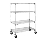 Metro A436EC Super Adjustable Super Erecta® Stem Caster Cart