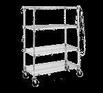 Metro A456BC Super Adjustable Super Erecta® Stem Caster Cart