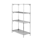 Metro A456C Super Adjustable Super Erecta® Starter Shelving