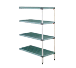 Metro AQ556G3 MetroMax Q™ Add-On Shelving Unit (4) polymer