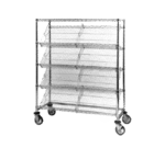 Metro DC15EC Slanted-Shelf Merchandiser/Dispenser Rack (4)