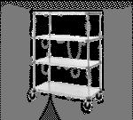 Metro F556EG Super Erecta® Stem Caster Cart