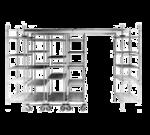 Metro FPS12N High-Density Top-Track Floor Pad Protectors