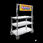 Metro GG2448 Grab n' Go Breakfast Cart
