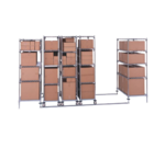 Metro LBTAC HD qwikTRAK™ High Density Double Deep Storage