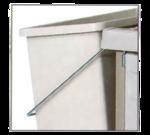 Metro LXHK3-WCH Waste can holder - standard height Lodgix carts