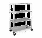 Metro N556BBR Super Erecta® Stem Caster Cart