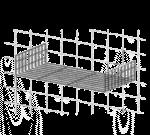 Metro PBA-GSDS SmartWall™ Light-Duty Grid Shelf