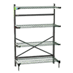 Metro SM761824-NK3-4 SmartLever™ Base Kit with Shelves