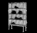 Metro WB257C Super Erecta® Bulk Storage Wine Shelving