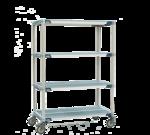 Metro X566BGX3 MetroMax i® Stem Caster Cart