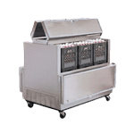 Nor-Lake AR164WVS/0-A Dual Access Milk Cooler