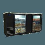 Nor-Lake NLBB69G AdvantEDGE™ Refrigerated Back Bar Storage Cabinet