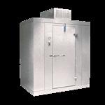 """Nor-Lake KLB8766-C 6' x 6' x 8'-7"""" H Kold Locker Indoor Cooler with floor"""
