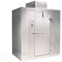 "Nor-Lake KLX77612-C 6' x 12' x 7'-7"" H Kold Locker Indoor Freezer with floor"