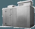 """Nor-Lake KODB7746-C 4' x 6' x 7'-7"""" H Kold Locker Outdoor Cooler with floor"""