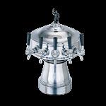 Perlick Corporation 4005-6BPCLG Gambrinus Draft Beer Tower