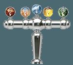 Perlick Corporation 4049-5B Brigitte Draft Beer Tower