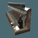 Perlick Corporation 4076BK17 Modular Draft Beer Dispensing Tower
