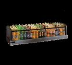 Perlick Corporation GMDS14X72 Glass Merchandiser Ice Display