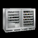 Perlick Corporation HC48WW C-Series Dual Zone Wine Reserve Refrigerator