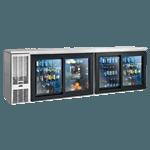 Perlick Corporation SDBS108 Sliding Door Refrigerated Back Bar Cabinet