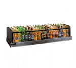 Perlick Corporation GMDS14X72 Glass Merchandiser Ice Display