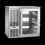 Perlick Corporation PTS36 Pass-Thru Refrigerated Back Bar Cabinet