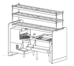 Perlick Corporation PTS78L-1-LF Pass-Thru Cocktail Station