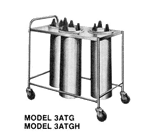 Piper Products/Servolift Eastern 3ATGH1 Heated Dish Dispenser