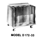 Piper Products/Servolift Eastern DH172-23 Heated Dish Storage Cart