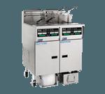 Pitco Frialator SSHLV14TC-2/FD Solstice Supreme Reduced Oil Volume Fryer System