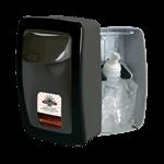 RJ Schinner PP8901F-EA Performance Plus Manual Soap Dispenser Light Grey with Grey Trim