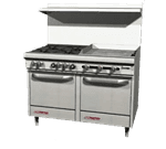 Southbend S48DC-2TR S-Series Restaurant Range