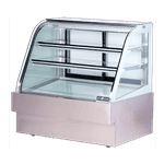 Spartan Refrigeration SD-48 Curved Glass Deli Case
