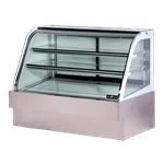 Spartan Refrigeration SD-60 Curved Glass Deli Case