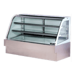 Spartan Refrigeration SD-72 Curved Glass Deli Case