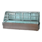 Spartan Refrigeration SD-96 Curved Glass Deli Case